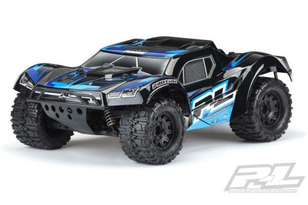 Pre-Painted / Pre-Cut Monster Fusion (Black) Bodyfor PRO-Fusion SC 4x4, Slash 2wd & Slash 4x4 with 2.8 MT Tires