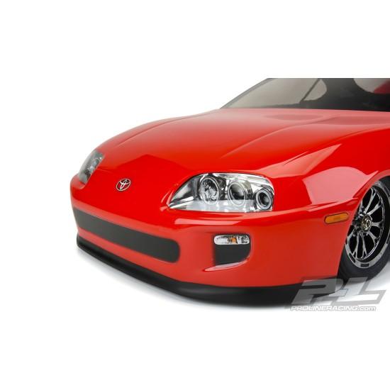 1995 Toyota Supra Clear Body for Losi 22S No Prep Drag Car, Slash 2wd Drag Car & AE DR10