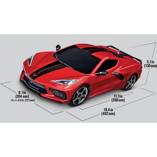 Traxxas Chevrolet Stingray 1/10 Scale Awd Supercar 4Tec 3.0 Red