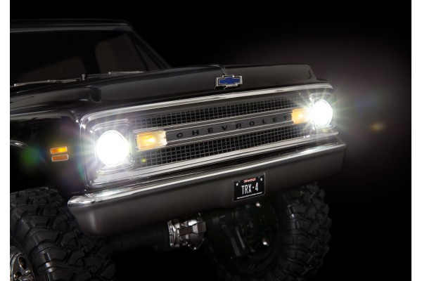 LED light set, complete with power supply (contains headlights, tail lights, side marker lights, distribution block) (fits 9111 or 9112 body)