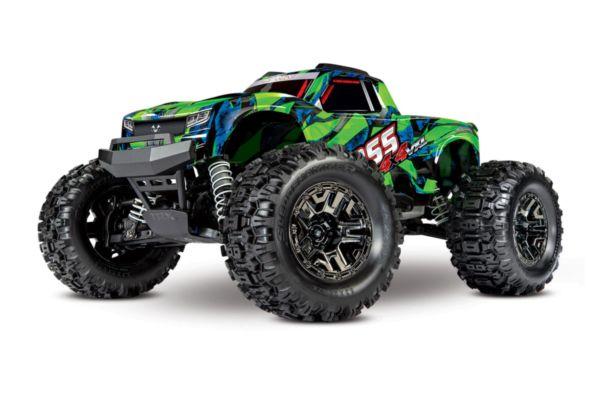 Traxxas Hoss 1op10 Scale 4WD Brushless Electric Monster Truck VXL-3S Groen