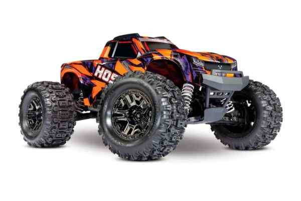 Traxxas Hoss 1op10 Scale 4WD Brushless Electric Monster Truck VXL-3S Oranje