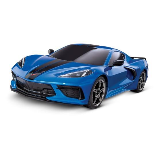 Traxxas Chevrolet Stingray 1/10 Scale Awd Supercar 4Tec 3.0 Blue