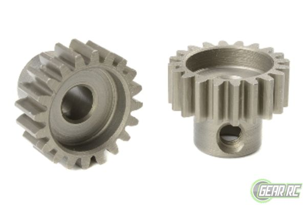 Team Corally 32 DP Motortandwiel Kort Gehard staal 18 Tanden 5mm as