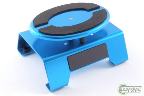 Fastrax Aluminium draaiplateau - kleur blauw