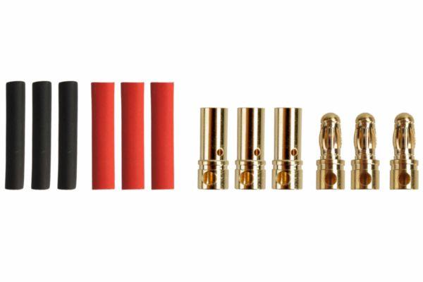 3.5mm Goud contacten (3paar)