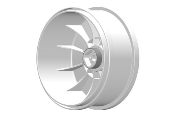Grp 1/6 buggy big wheel 132mm white fixing with 18mm square