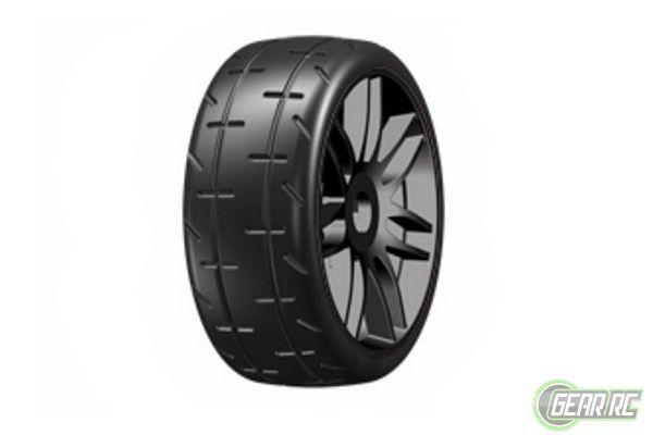 1:8 GT - T01 REVO - S5 medium - Mounted on New Spoked Black Whee