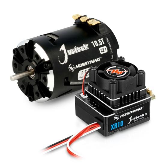 Hobbywing Combo XR10 JS4 G3 Black G2.1 10 Turn 4000kV