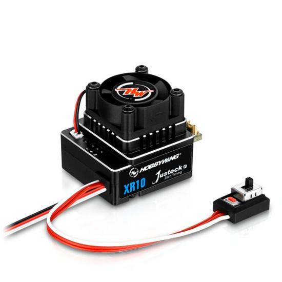 Hobbywing Combo XR10 JS4 G3 Black G2.1 13.5 Turn 3200kV