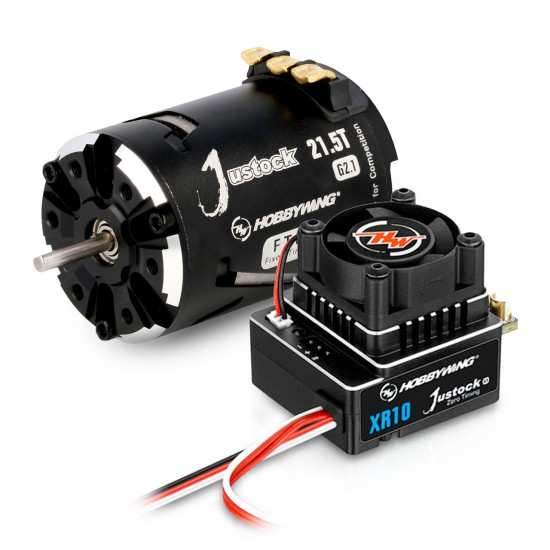 Hobbywing Xerun Justock Combo G3 and 21 Turn 2050kV for 1:10 Cralwer, F1