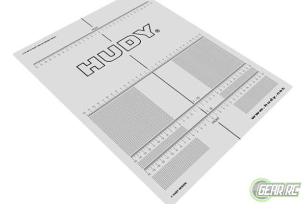 Plastic Set-Up Board Decal For 1:8, 1:10