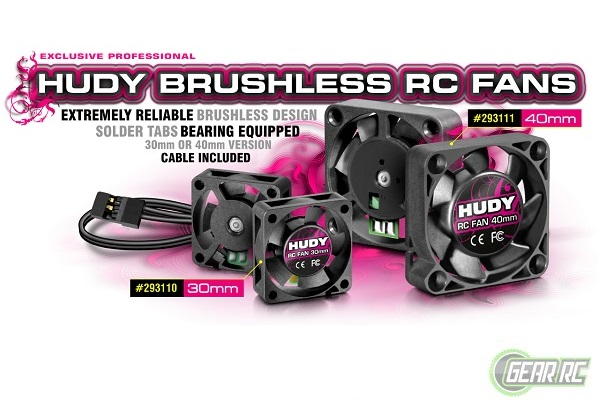 HUDY BRUSHLESS RC FAN 30MM
