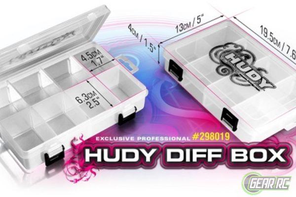 HUDY DIFF BOX - 8-COMPARTMENTS