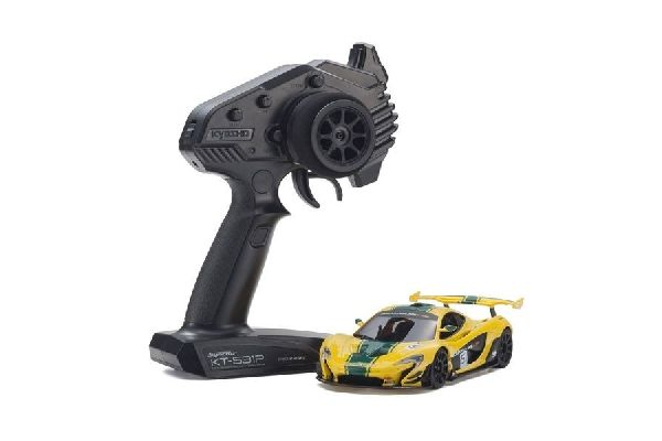 Kyosho MINI-Z RWD MCLAREN P1 GTR yellow/green  W-MM KT531P