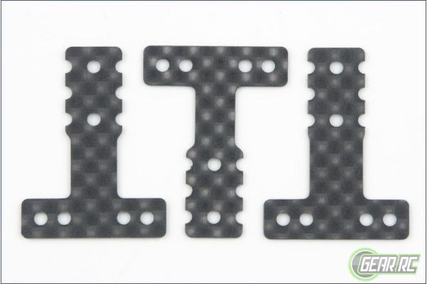 Kyosho MiniZ Carbon rear susp plate for MR03-MM LM