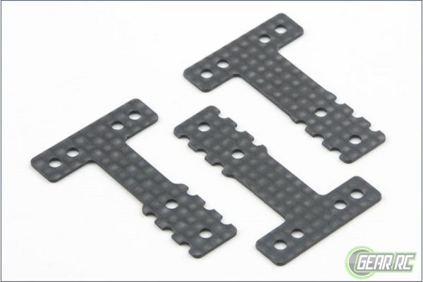CARBON REAR SUSP PLATE FOR MR03-RM/HM