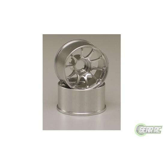 CE28N Wheel Wide Off-Set 0mm Silver