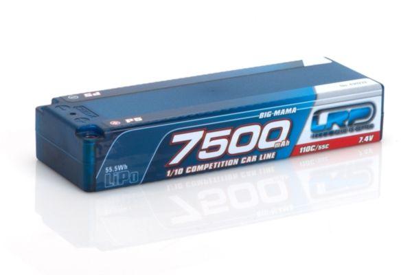 LRP 7500 - Big Mama P5 - 110C/55C - 7.4V LiPo - 1/10 Compet