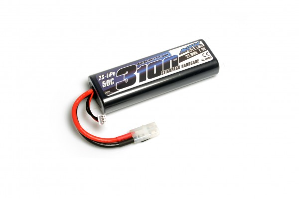 ANTIX by LRP 3100 - 7.4V - 50C LiPo Car Stickpack Hardcase - Tamiya Plug