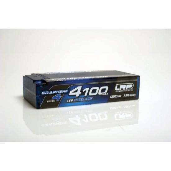 5 HV LCG Stock Spec Shorty GRAPHENE-4 4100mAh Hardcase Akku - 7.6V LiPo - 135C/65C