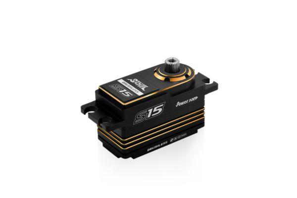 Power HD S15 Gold Low Profile Brushless Servo