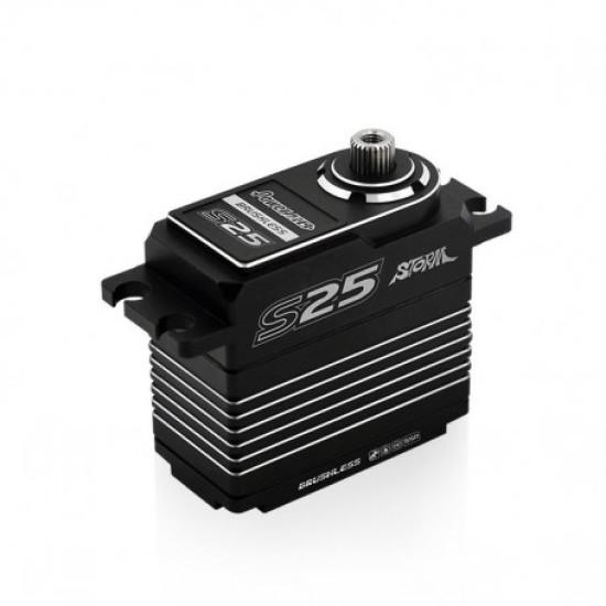 Power HD Black-Silver S25 Servo 25 KG  0,06 SEC