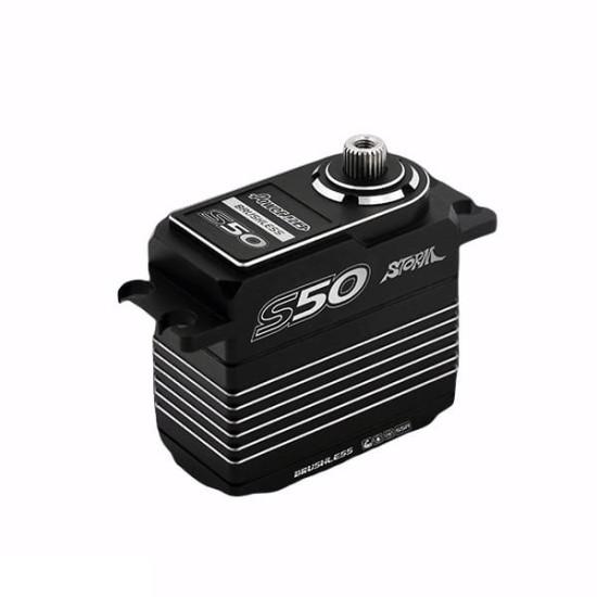 Power HD Black-Silver S50 Servo 50 KG  0,10 SEC