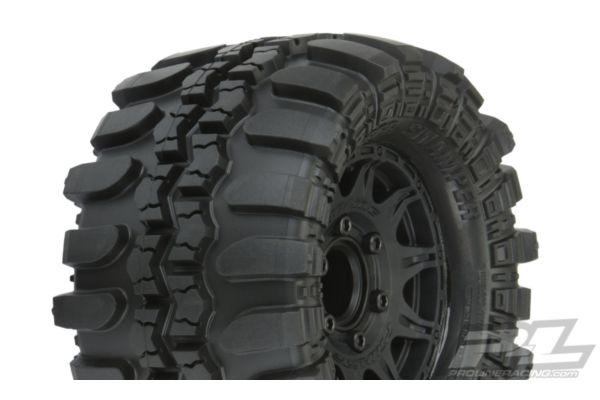 Interco TSL SX Super Swamper 2.8 All Terrain Tires Mounted on Raid Black 6x30 Re
