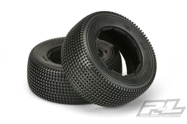 Fugitive S2 Medium Off-Road Tires 2 No Foam for Baja 5SC Rear and 5ive-T Front or rear