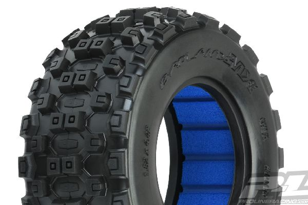 Badlands MX SC 2.2/3.0 M2 (Medium) Tires (2) for SC Trucks Front or Rear