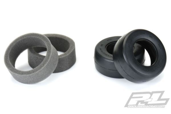 """Reaction HP SC 2.2""""/3.0"""" S3 (Soft) Drag Racing BELTED Tires (2) for SC Trucks Rear"""