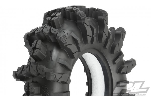 """Interco Black Mamba 2.6"""" Mud Terrain Truck Tires (2) for Front or Rear"""
