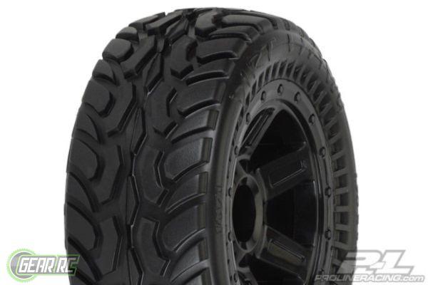 Dirt Hawg I Off-Road Tires Mounted on Desperado Wheels (2) f