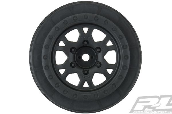 Impulse 2.2/3.0 Black Front Wheels (2) for Slash 2wd