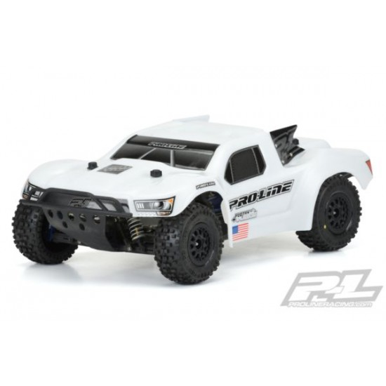Pre-Cut Flo-Tek Fusion Bash Armor Body (White) for Slash 2wd, Slash® 4x4, SC5M