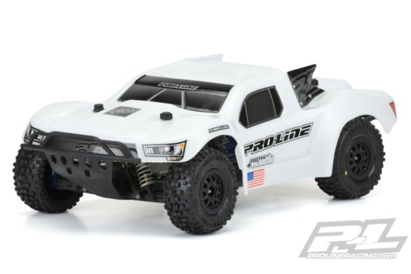Pre-Cut Flo-Tek Fusion Bash Armor Body (White) for Slash 2wd, Slash® 4x4, SC5M