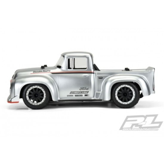 1956 Ford F-100 Pro-Touring Street Truck Clear Body for Slash 2wd Slash 4x4 en 1op10 rally