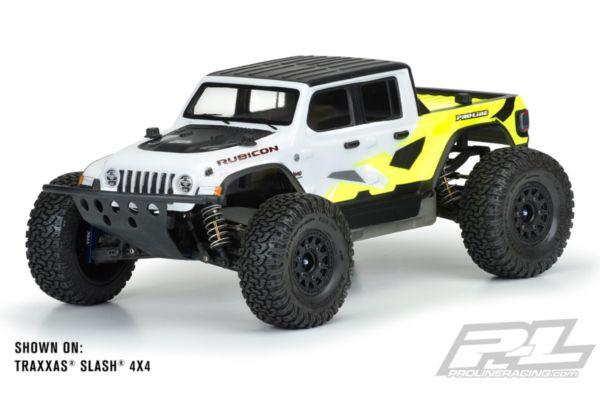 Jeep Gladiator Rubicon Clear Body for Slash, ARRMA Senton, E-REVO 2.0 & PRO-Fusion SC 4x4