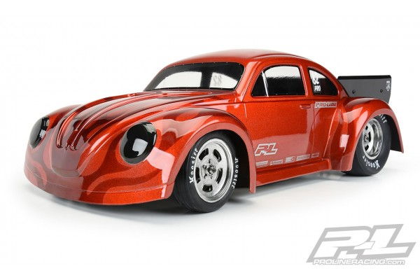 Volkswagen Drag Bug 1:10 Clear Body for Losi 22S No Prep Drag Car (requires trimming), Slash 2wd Drag car & AE DR10