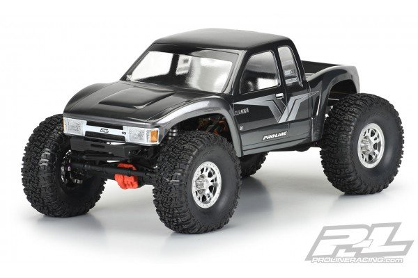 """Cliffhanger High Performance Clear Body for 12.3"""" (313mm) Wheelbase Scale Crawlers"""