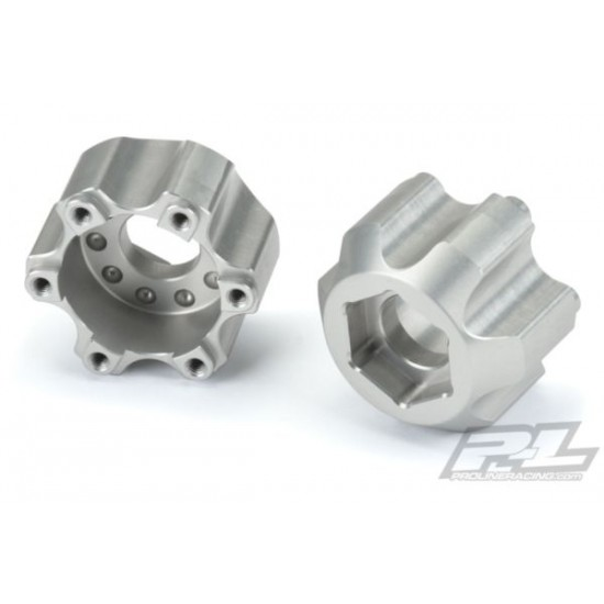 6x30 to 17mm Aluminum Hex Adapters for Pro-Line 6x30 2.8 Wheels