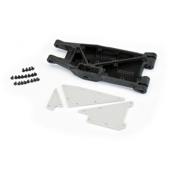 PRO-Arms Replacement Lower Right Arm (1) with Plate and Hardware for X-MAXX