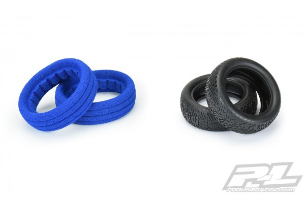 Resistor 2.2 2WD S4 (Super Soft) Off-Road Buggy Front Tires (2) (with closed cell foam)
