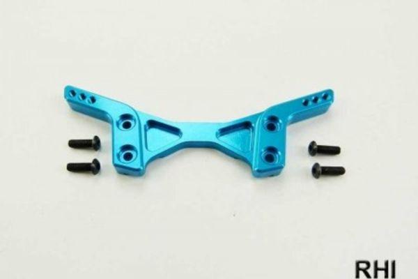 Tamiya DT03 Alu demperbrug voor blauw (1)