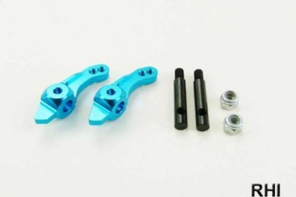 Tamiya DT03 Alu stuurblok voor blauw (2)