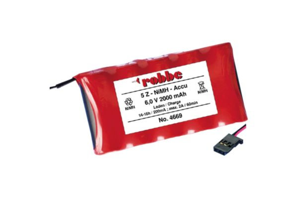 Transmitter battery 5 NIMH 2000MAH