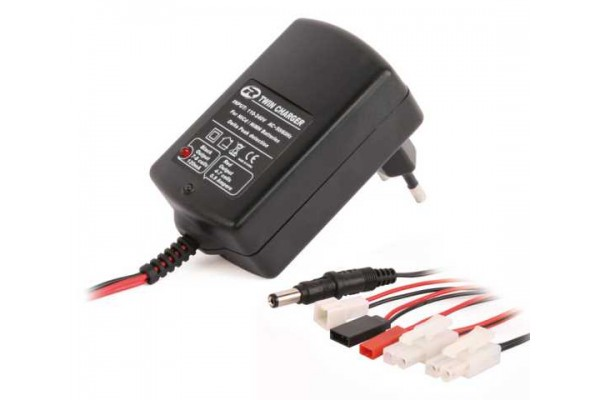 Twin Charger 4-7 cells 0.9A & 7-8 cells 120mA