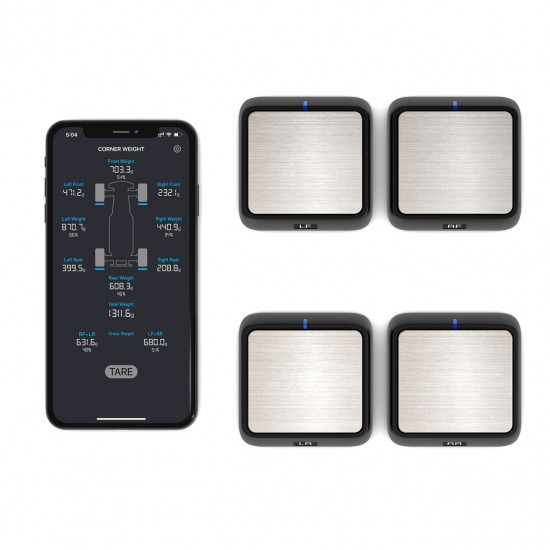SkyRC digitale tweak weegschaal Bluetooth voor aslastmeting
