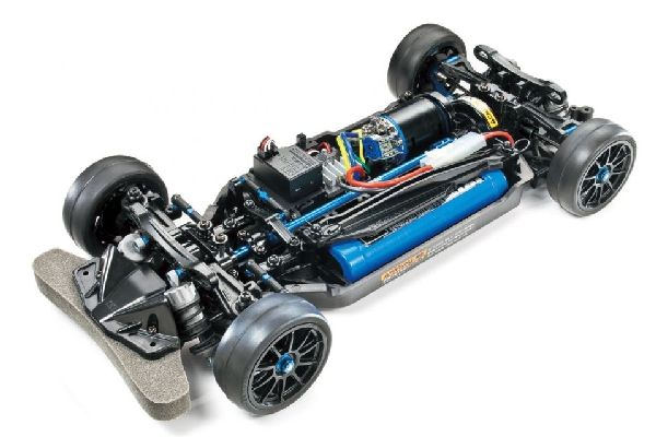Tamiya 1/10 RC TT-02R bouwdoos